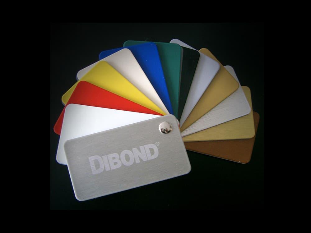 Echantilon coloris alu dibond