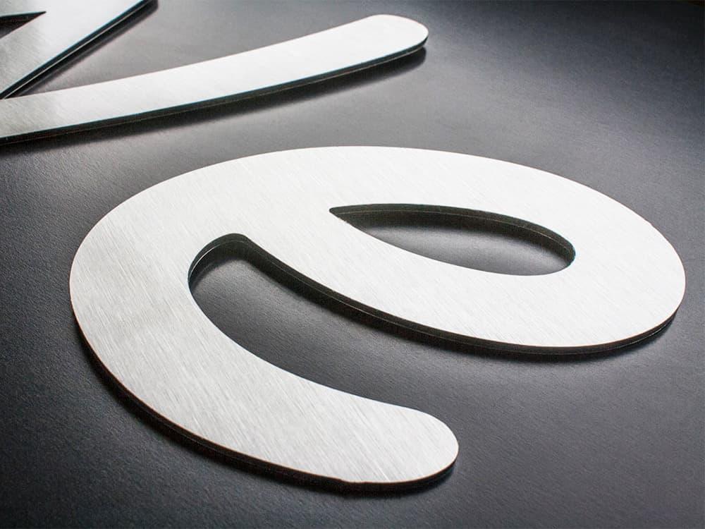 Fabricant lettres découpées sur Metz